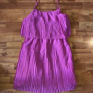 Merona pink crepe dress